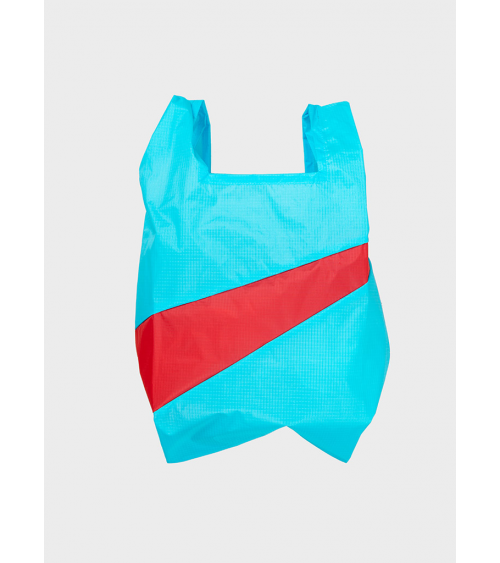 Susan Bijl Shoppingbag Keyblue & Redlight