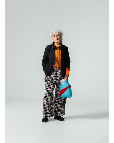 Susan Bijl Shoppingbag Keyblue & Redlight