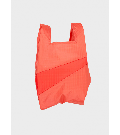 Susan Bijl Shoppingbag Salmon & Red Alert