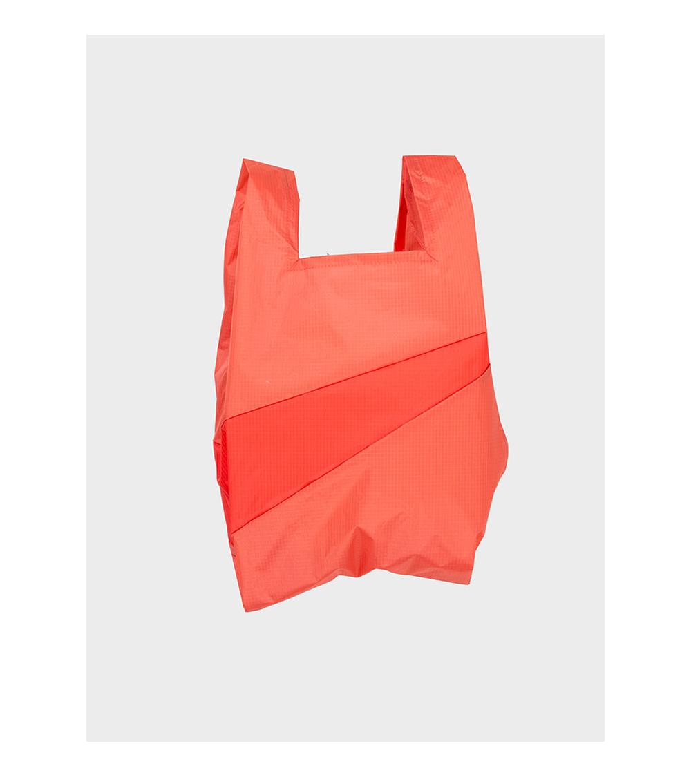 Susan Bijl Shoppingbag Salmon & Red Alert
