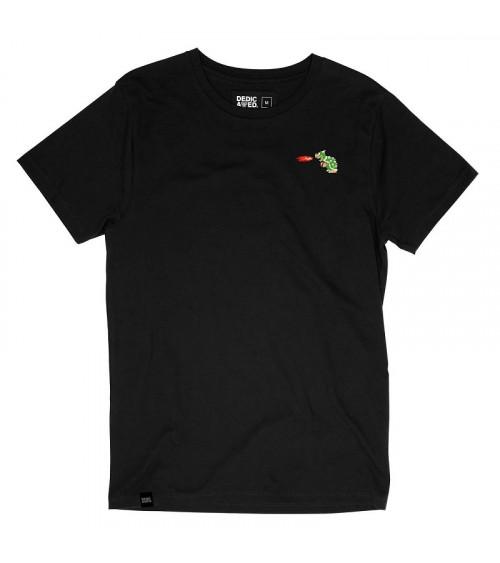 Dedicated T-shirt Stockholm Bowser Black