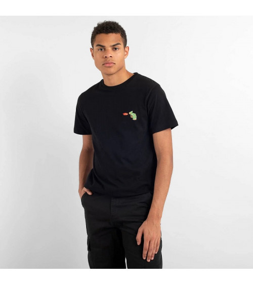 Dedicated T-shirt Stockholm Bowser Black