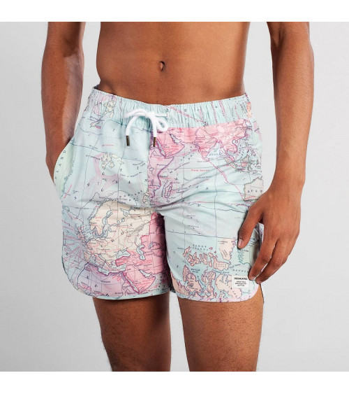 Dedicated Swim Shorts Sandhamn Map