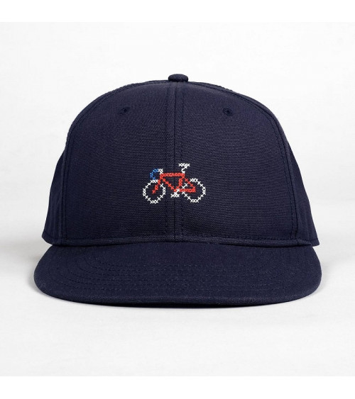 Dedicated Snapback Cap Stitch Bike