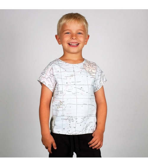Dedicated T-shirt Lillehammer Map