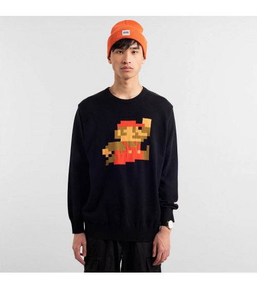 Dedicated Sweater Mora Super Mario Black