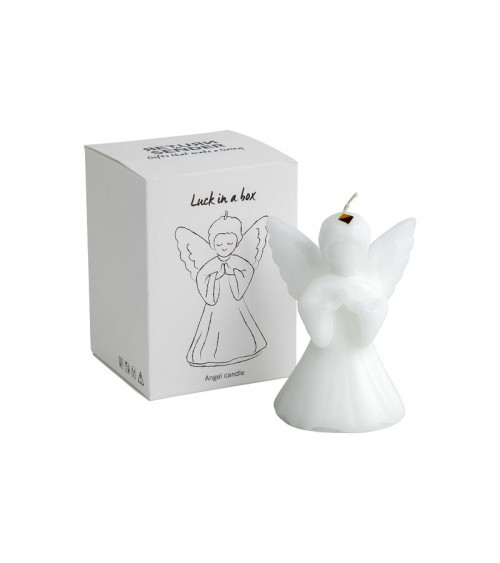 Return to Sender Luck in Box Angel Candle