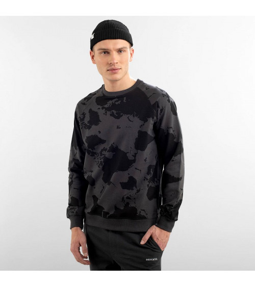 Dedicated Sweatshirt Malmoe World Charcoal