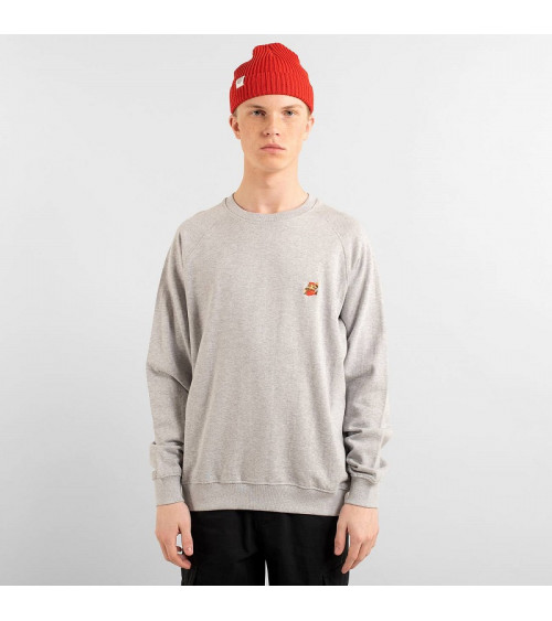 Dedicated Sweatshirt Malmoe Super Mario Grey Melange