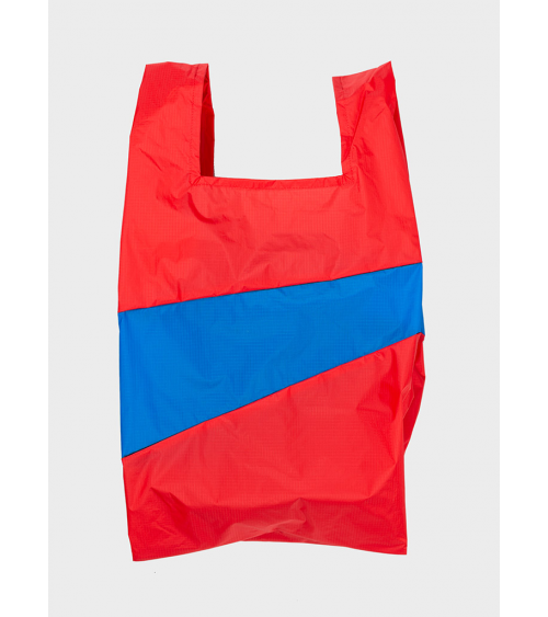 Susan Bijl Shoppingbag Redlight & Blueback