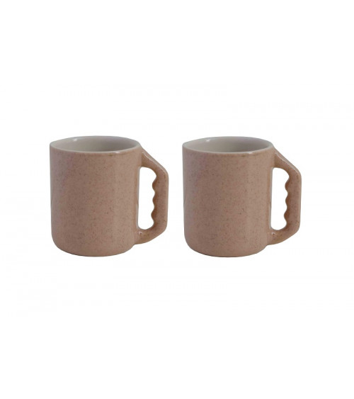 Return to Sender set of 2 espresso cups nude