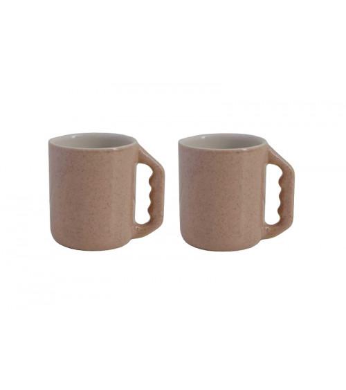 Return to Sender set of 2 espresso cups nude