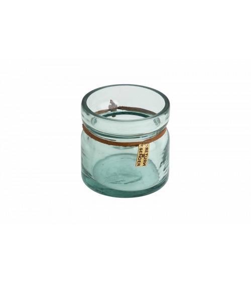 Return to Sender Tea light recycled glass small