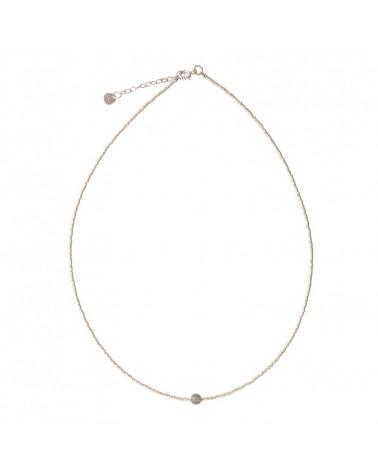 A Beautiful Story Flora Labradorite silver necklace