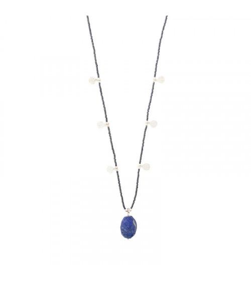 A Beautiful Story Charming Lapis Lazuli Silver necklace