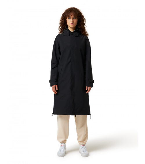 Maium Mac Coat Black