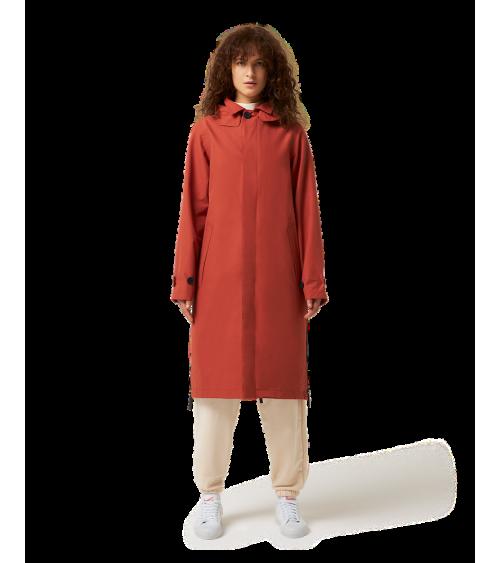 Maium Mac Coat Brick