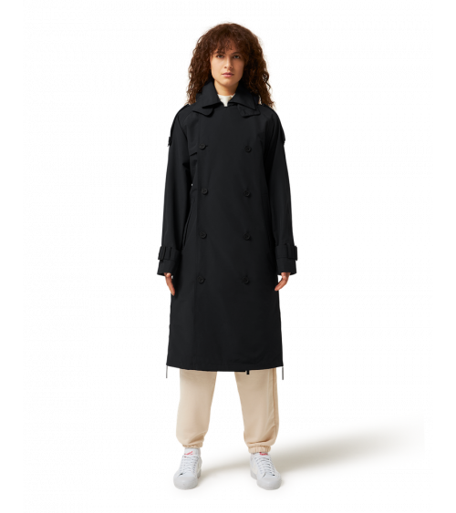 Maium Trench Coat Black