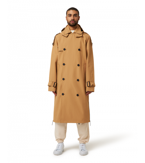 Maium Trench Coat Iced Coffee