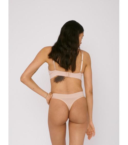 Organic Basics Thong 2-pack Rose Nude