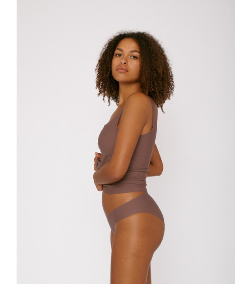 Organic Basics Invisible Cheeky Briefs 2-pack Deep Taupe