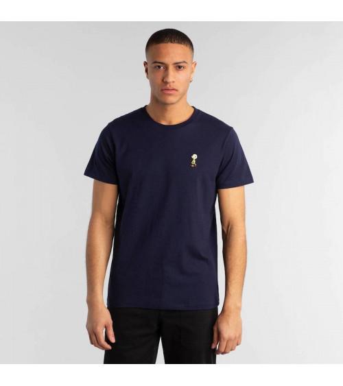 T-shirt Stockholm Charlie Brown Donkerblauw