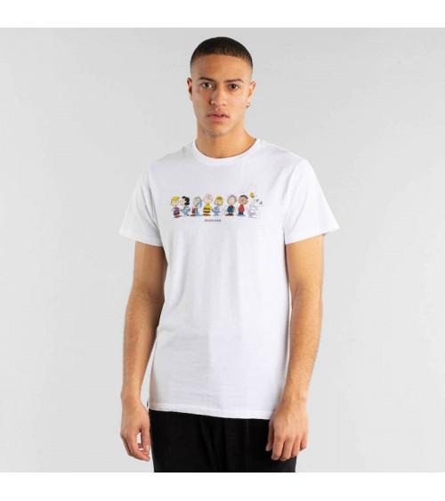 T-shirt Stockholm Peanuts Crew Wit