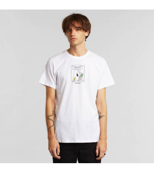 T-shirt Stockholm Snoopy Stupidity White