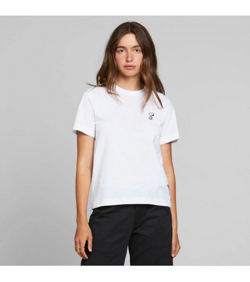 Dedicated T-shirt Mysen Snoopy Wit