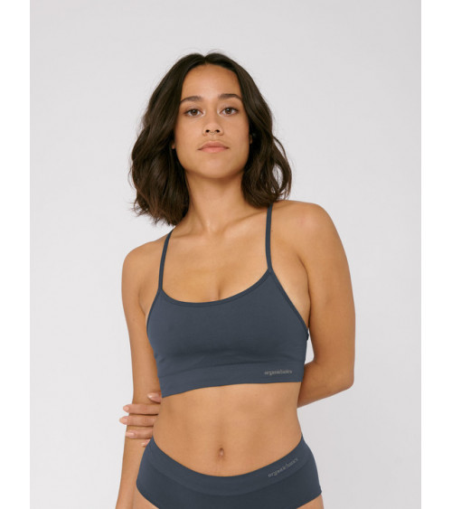 Organic Basics SilverTech™ Active Sports Bra Sea Blue