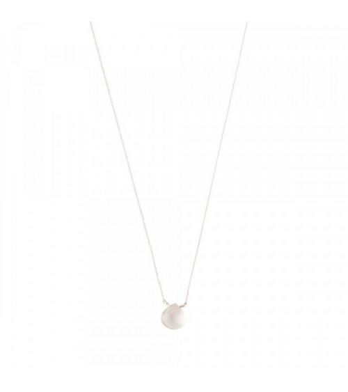 A Beautiful Story Divine Rose Quartz Silver Necklace