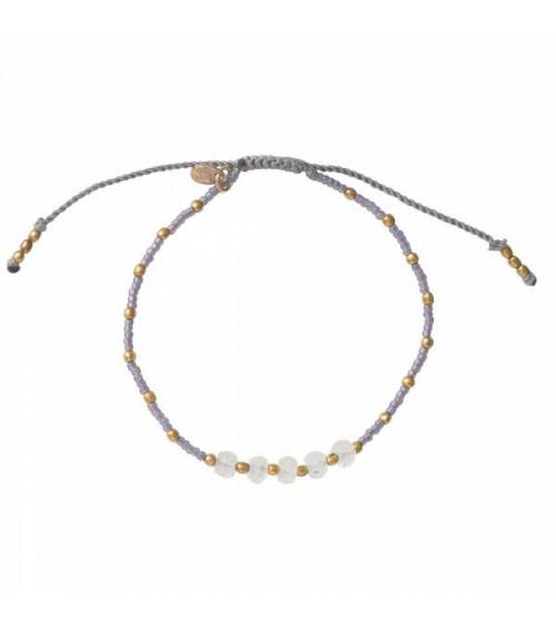 A Beautiful Story Family Moonstone Silver Bracelet