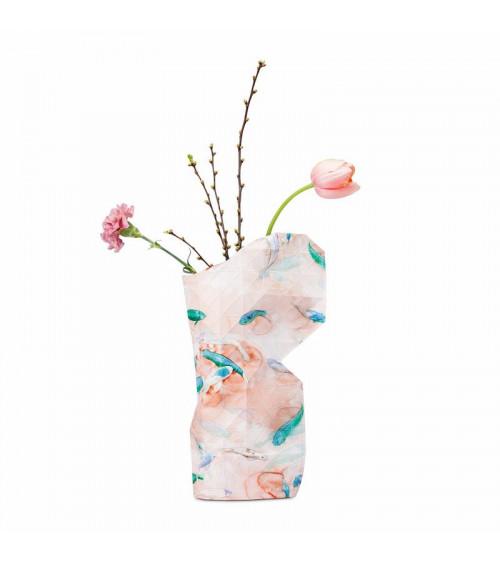 Tiny Miracles Paper Vase Pink Fish