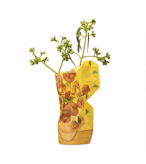 Tiny Miracles Paper Vase Sun Flowers (small)