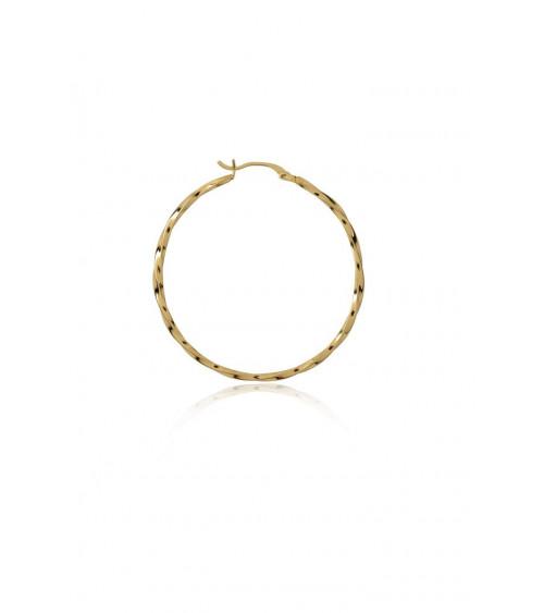 T.I.T.S. Twist Hoop Large - Gold