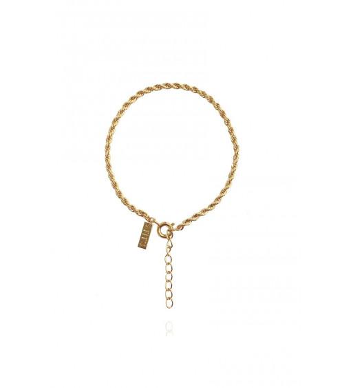 T.I.T.S. Rope Bracelet - Gold