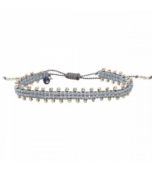 A Beautiful Story Happiness  Lapis Lazuli Silver Bracelet