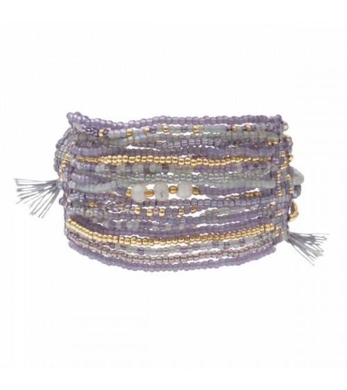 A Beautiful Story Brilliant Moonstone Gold Bracelet