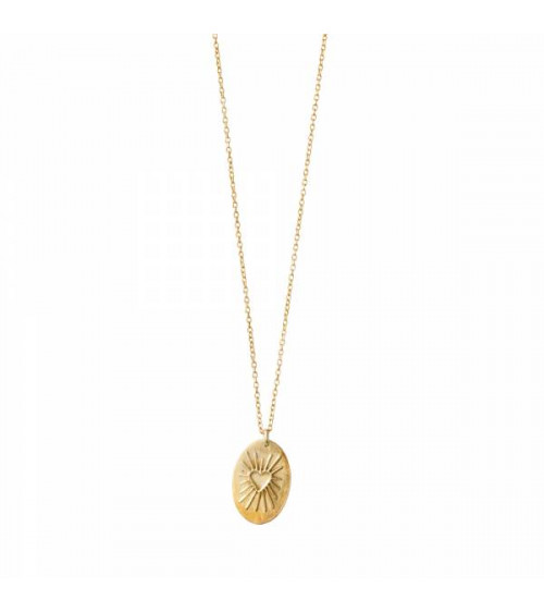 A Beautiful Story Wonderful Heartshine Gold Necklace
