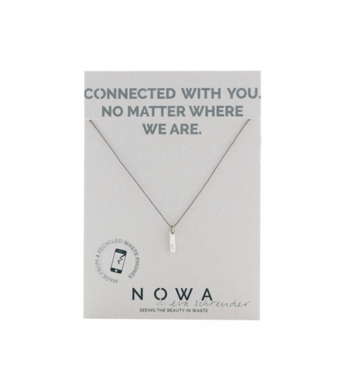 Nowa Connection (&) Pendant Silver Cord