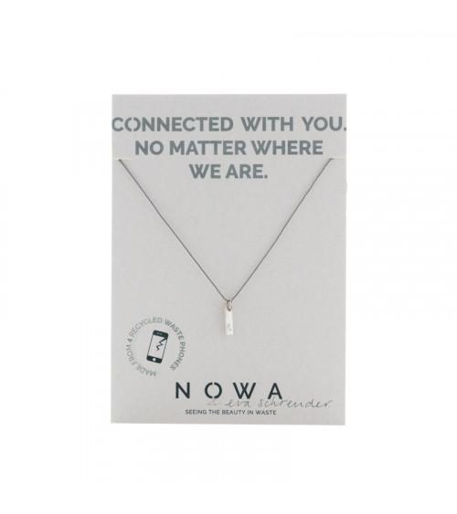 Nowa Connectie (&) Pendant Zilver Koord
