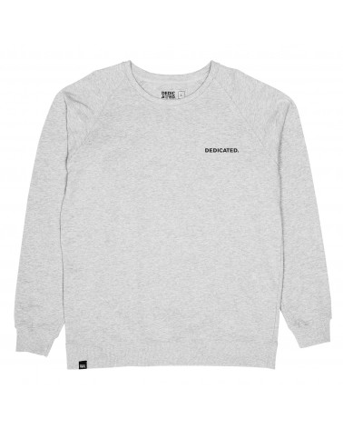 Dedicated Sweatshirt Malmoe Dedicated Logo