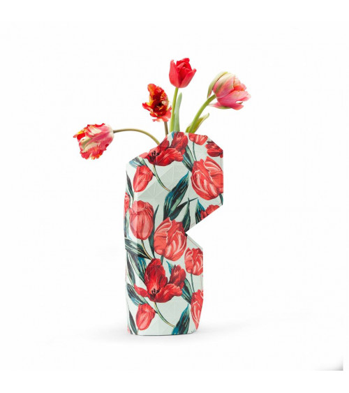 Tiny Miracles Paper Vase Tulips