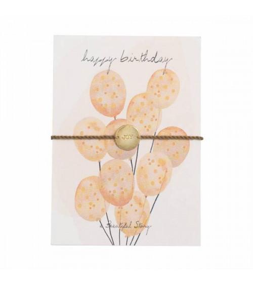 A Beautiful Story Jewelry Postcard Birthday