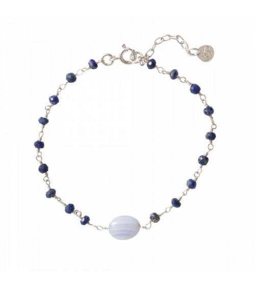 A Beautiful Story Universe Lapis Lazuli Zilver Armband