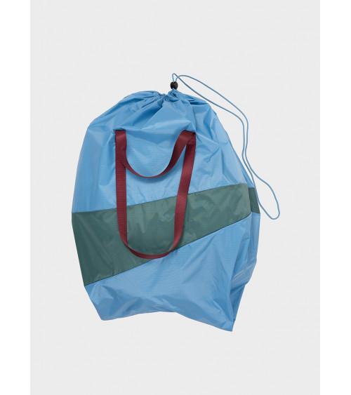 Susan Bijl Trash Bag Sky Blue & Pine