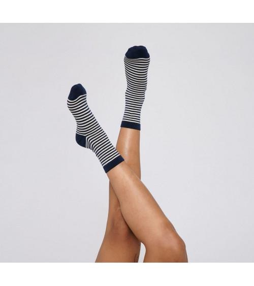 Organic Basics Color Striped Socks