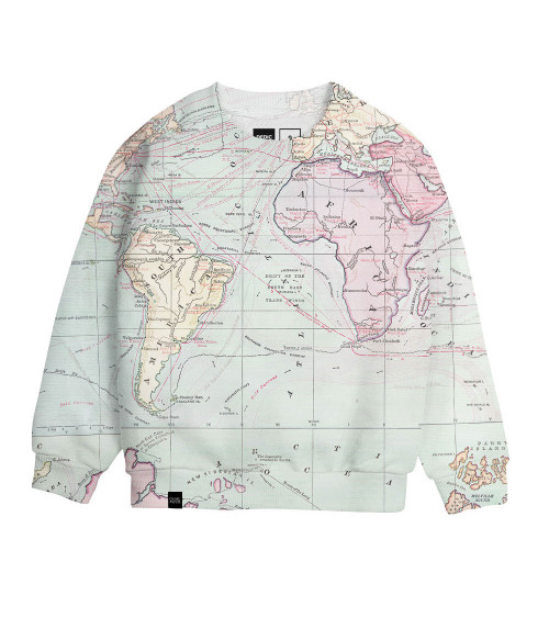 Dedicated Sweatshirt Katthult Map