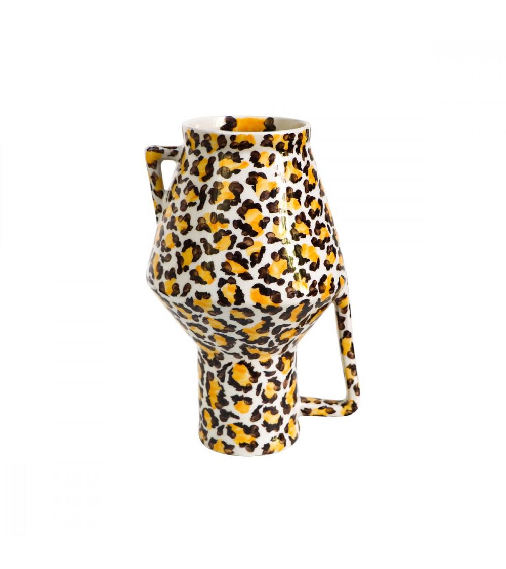 Return to Sender Vase Leopard
