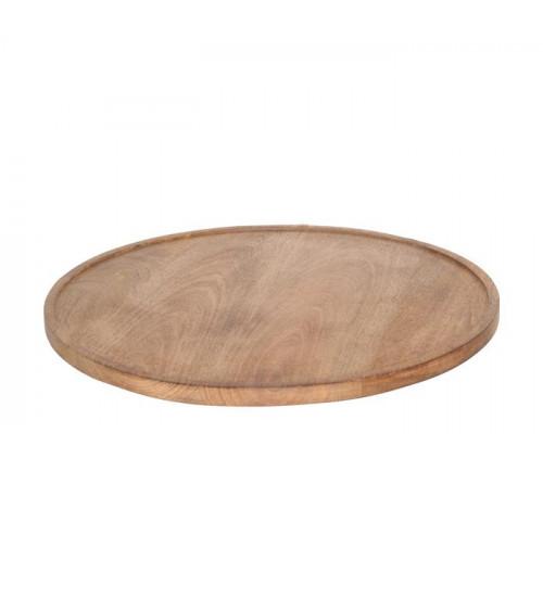 Return to Sender Wooden Tray Round